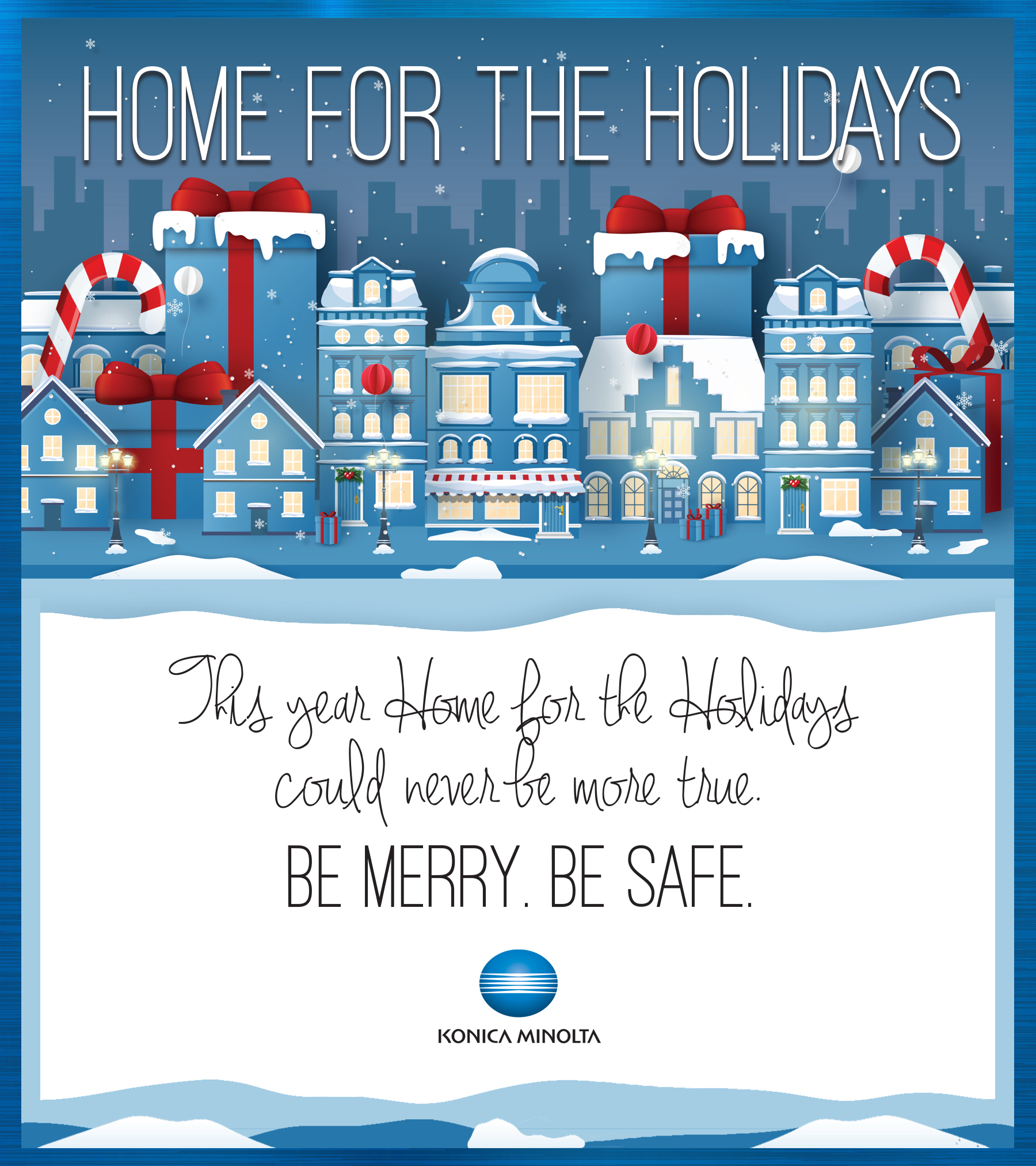 Konica Minolta Holiday Card
